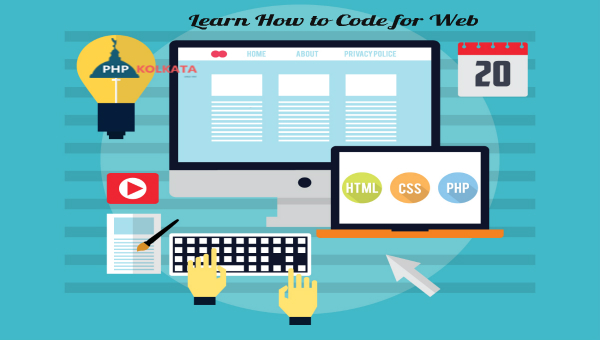 how to code for php
